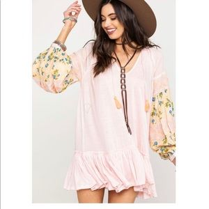 Free People floral mist combo